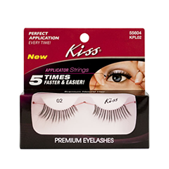 ��������� ������� Kiss Ever Easy Lashes