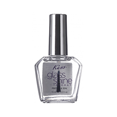 Топы Kiss Фиксатор лака Glass Shine Topcoat (Объем 15 мл)