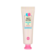 BB крем Holika Holika Sweet Cotton Pore Cover BB SPF30 PA++ 02 (Цвет 02 Natural Beige variant_hex_name E2A578)
