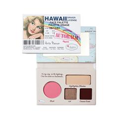 Многофунциональные theBalm Палетка AutoBalm Hawaii Face Palette thebalm auto balm hawaii face palette палетка теней 7 2 гр