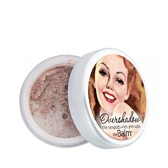 Тени для век theBalm Тени-хайлайтер Overshadow Shimmering All-Mineral Eyeshadow (Цвет Work Is Overrated variant_hex_name C0A29C)
