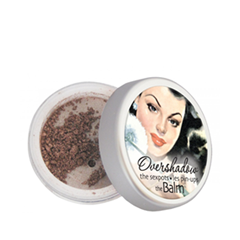 Тени для век theBalm Тени-хайлайтер Overshadow Shimmering All-Mineral Eyeshadow (Цвет If Youre Rich, Im Single variant_hex_name 654443)