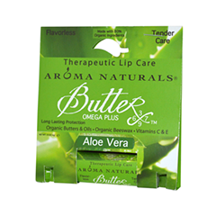 Бальзам для губ Aroma Naturals Бальзам Aloe Vera - Therapeutic Lip Care (Объем 4 г)