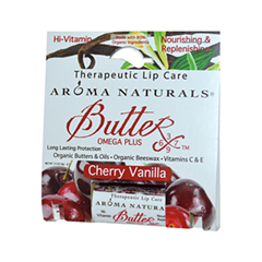 Бальзам для губ Aroma Naturals Бальзам Cherry Vanilla - Therapeutic Lip Care (Объем 4 г)