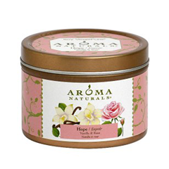 Ароматическая свеча Aroma Naturals Hope - Soy Vegepure Mini Tin (Объем 80 г)