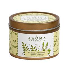 Ароматическая свеча Aroma Naturals Meditation - Soy Vegeрure Mini Tin (Объем 80 г)