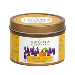 Ароматическая свеча Aroma Naturals Relaxing  Soy Vegepure Mini Tin (Объем 80 г)