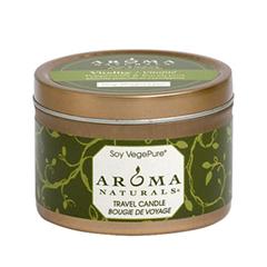 Ароматическая свеча Aroma Naturals Vitality - Soy Vegepure - Small Tin (Объем 80 г)