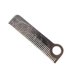 Расчески Chicago Comb Co. Модель №1. Black Skeleton (Цвет Black Skeleton variant_hex_name 888584)
