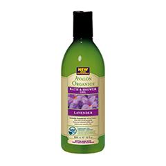 Гель для душа Avalon Organics Lavender (Объем 335 мл) avalon organics мини гель для ванны и душа с маслом лаванды avalon organics lavender gel travel size av35474 1 шт