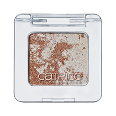 Тени для век Catrice Metallure. Metallic Marbled Eye Shadow C01 (Цвет C01 Metalight variant_hex_name 9D705E)