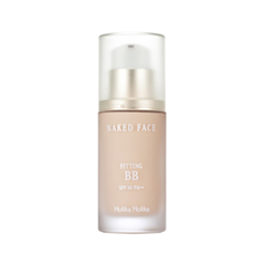 BB ���� Holika Holika Naked Face Fitting BB SPF30 PA++ 21 (���� 21.5 Naked Beige)