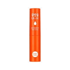 Тинт для губ Holika Holika Waterdrop Tint Stick 03 (Цвет 03 Waterdrop Orange variant_hex_name E11200)