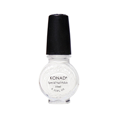 Лак для ногтей Konad Special Nail Polish S01 11 мл (Цвет S01 White variant_hex_name F1F0EE)  повседневный лак konad regular nail polish konad solid orange