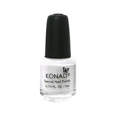 Лак для ногтей Konad Special Nail Polish S01 5 мл (Цвет S01 White variant_hex_name FEFEFE)