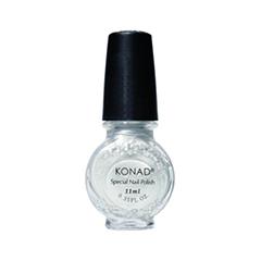 Лак для ногтей Konad Special Nail Polish S03 11 мл (Цвет S03 Silver variant_hex_name FEFFFF)