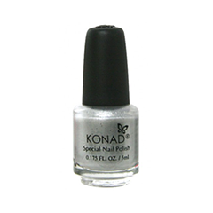 Лак для ногтей Konad Special Nail Polish S03 5 мл (Цвет S03 Silver variant_hex_name 868D85)