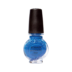 Лак для ногтей Konad Special Nail Polish S22 11 мл (Цвет S22 Blue variant_hex_name 197BC4)