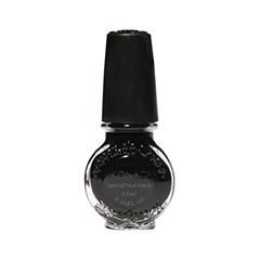 Лак для ногтей Konad Special Nail Polish S25 11 мл (Цвет S25 Black variant_hex_name 0F110E)