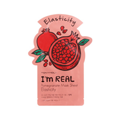 Тканевая маска Tony Moly I'm Real Pomegranate Mask Sheet (Объем 21 мл) tony moly sheet gel mask pureness 100 collagen маска тканевая с экстрактом коллагена 21 мл