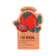 Тканевая маска Tony Moly I'm Real Tomato Mask Sheet (Объем 21 мл) tony moly sheet gel mask pureness 100 collagen маска тканевая с экстрактом коллагена 21 мл