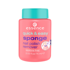 Средства для снятия лака essence Quick  Easy Sponge Nail Polish Remover