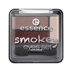 Тени для век essence Smokey Eyes Set 02 (Цвет 02 Smokey Day variant_hex_name 936C66)