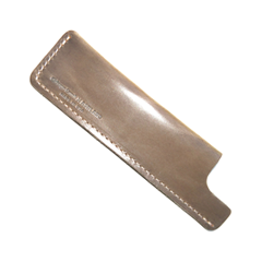 Расчески Chicago Comb Co. Чехол Ashland Leather № 1/3. Хаки (Цвет Хаки variant_hex_name 9f8472)