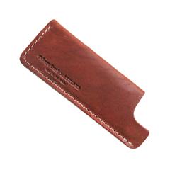 Расчески Chicago Comb Co. Чехол Ashland Leather № 2/4. Бронзовая кожа (Цвет Бронзовая кожа variant_hex_name 863832)