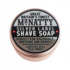 Mr. Natty Мыло для бритья Silver Label Shave Soap (Объем 80 мл)