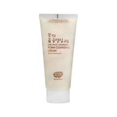 Пенка Whamisa Крем-пенка Organic Flowers Foam Cleansing Cream (Объем 200 мл)