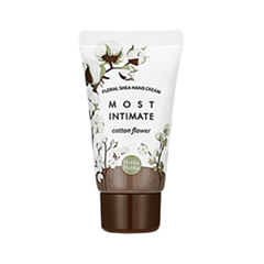 Крем для рук Holika Holika Floral Shea Hand Cream. Cotton Flower (Объем 30 мл)