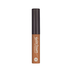 Тушь для бровей Holika Holika Wonder Drawing 1 Second Finish Browcara 02 (Цвет 02 Light Brown variant_hex_name A5663D) окрашивание бровей holika holika wonder drawing cushion tint brow 02 цвет 02 dark brown variant hex name 714600