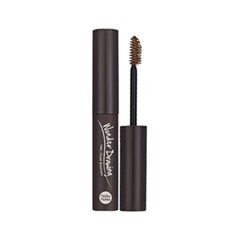 Тушь для бровей Holika Holika Wonder Drawing 1 Second Finish Browcara 04 (Цвет 04 Dark Brown variant_hex_name 473124) окрашивание бровей holika holika wonder drawing cushion tint brow 02 цвет 02 dark brown variant hex name 714600