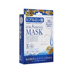 Тканевая маска Japan Gals Набор масок с гиалуроновой кислотой Pure 5 Essential 30шт.