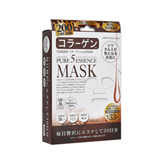 Тканевая маска Japan Gals Маска с коллагеном Pure 5 Essential 30 шт.