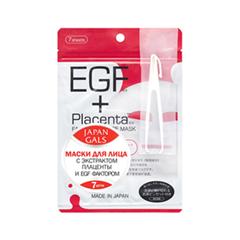 Тканевая маска Japan Gals Набор масок EGF + Экстракт плаценты 7 шт.