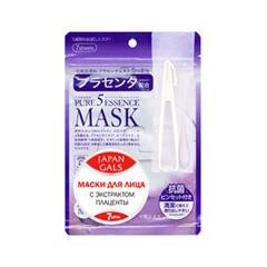 Тканевая маска Japan Gals Набор масок с экстрактом плаценты Pure 5 Essential 7 шт.