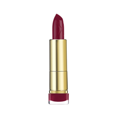Помада Max Factor Colour Elixir Lipstick 720 (Цвет 720 Scarlet Ghost variant_hex_name 8C182B) туши max factor тушь с эффектом накладных ресницfalse lash effect epic black brown