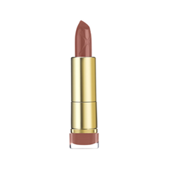 Помада Max Factor Colour Elixir Lipstick 745 (Цвет 745 Burnt Caramel variant_hex_name 98615F)