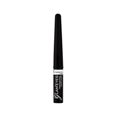 Подводка Rimmel Glam`eyes Professional Liquid Liner 001 (Цвет 001 Black Glamour variant_hex_name 000000)