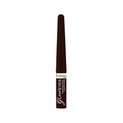Подводка Rimmel Glam`eyes Professional Liquid Liner 002 (Цвет 002 Brown Velvet variant_hex_name 3B1307)