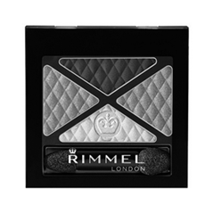 ���� ��� ��� Rimmel Glam`eyes Quad Eyeshadow 001 (���� 001 Smoky Noir)