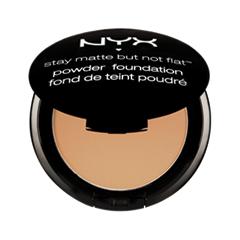 ����� NYX Stay Matte But Not Flat Powder Foundation 06 (���� 06 Medium Beige)