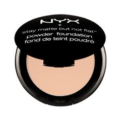 ����� NYX Stay Matte But Not Flat Powder Foundation 01 (���� 01 Ivory)