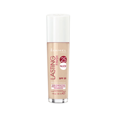 ��������� ������ Rimmel Lasting Finish Nude Foundation 010 (���� 010 Light Porcelain)