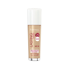 Тональная основа Rimmel Lasting Finish Nude Foundation 200 (Цвет 200 Soft Beige variant_hex_name F2B691)