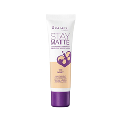 Тональная основа Rimmel Stay Matte 100 (Цвет 100 Ivory variant_hex_name FED9B1)