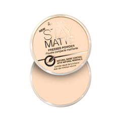 Пудра Rimmel Stay Matte Powder 003 (Цвет 003 Peach Glow variant_hex_name FAD9C0)