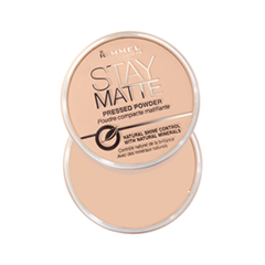 Пудра Rimmel Stay Matte Re-Pack Powder 006 (Цвет 006 Champagne variant_hex_name F0C6AD)